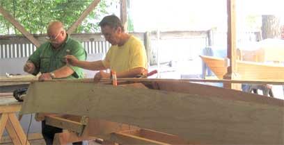 Canoe Building Class